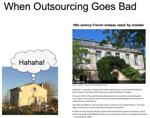 BadOutsourcing